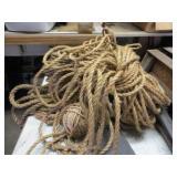 Large Pile of Hemp Rope & Twine