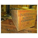 Nabisco Wooden Box