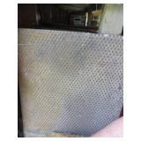 Sheet of Steel Diamond Plate
