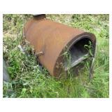 Heavy Duty Barrel Stove