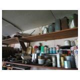 Contents of Garage Upper Shelves