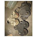 3 Steel Gantry Rollers