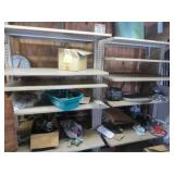 Double Sided Adjustable Metal Shelving Unit