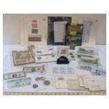 August Stamps, Coins, Paper Money and Ephemera