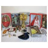 Barbies, Collectible Dolls, Jewelry and More