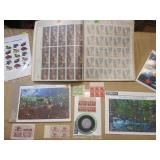 US Stamps: Sheets, Full Panes & Blocks