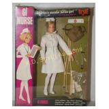 RARE 1967 GJ Joe Nurse Action Girl (Mint in