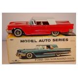 """1958 Bandai #701 Japan 8"""" Tin Friction Ford"""