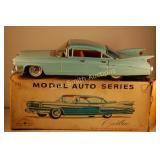 """1959 Bandai Japan #721 Tin Friction 11"""" Cadillac"""