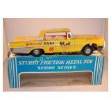 "c1960 Taiyo Japan 10 1/2"" Tin Litho Friction Ford"