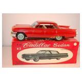 """1962 Bandai #816, 8"""" Tin Friction Cadillac Sedan"""