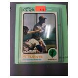 1973T #50 Roberto Clemente