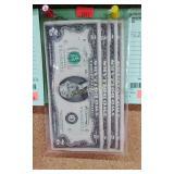 (4) Series of 1976 Green Seal $2.00 Bills