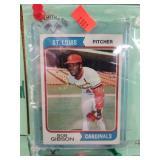 1974 Topps # 350 Bob Gibson