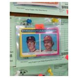 1975 Topps # 312 Nolan Ryan & Steve Carlton