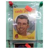 1959 Topps #394 Randy Jackson