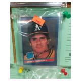1986 JOSE CONSECO ROOKIE # 39