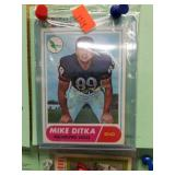 1968 Topps Mike Ditka Card #162