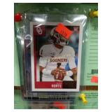 Lot featuring Jalen Hurts Sooners Rookie