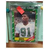 1986 REGGIE WHITE NFL ROOKIE # 275