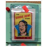 1971-72T Hockey Gordie Howe #23 Checklist Booklet