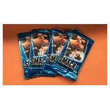 (4) 1999 WWF Smackdown Trading Cards Wax Packs