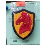 WWII - 107th Armored Cavalry Regiment Patch