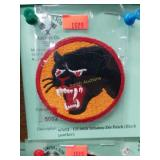 WWII - US 66th Infantry Div Patch (Black panther)