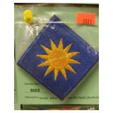 WWII - US 40th Inafntry Div Patch (Sunburst)