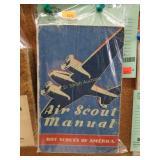 """1942 Boy Scouts """"Air Scout Manual"""""""