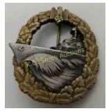 +Nazi WWII Destroyer War Badge