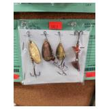 4 pcs. Vintage spinners