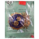 Retired Police Badge