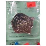 NY municipal police badge