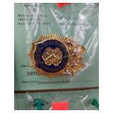 Commissioners Badge