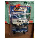 +(2) Taco Bell Matchbox Cars MIP
