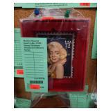 Marilyn Monroe Kurt S Adler USPS Stamp Christmas