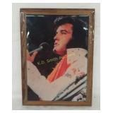 +Elvis Presley Lacquer Plaque