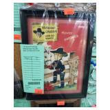 +Framed Vintage Hopalong Cassidy Bar-20 Ranch