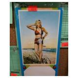 Girlie - Advertising Sample Pinup Blotter - Unused