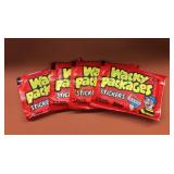 (4) 1986 Topps Wacky Packages Stickers Wax Packs