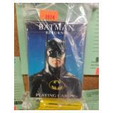 BATMAN RETURNS PLAYING CARDS
