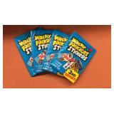 (4) 1980T Wacky Packages 3rd Series Wax Packs