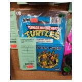 Unopened Box Set of Topps TMNT Cards - 1990