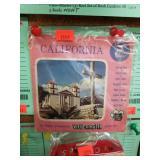 C1955 View-Master 3 Reel set of California