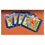 (4) c1994 Panini Pooh Sticker Packs