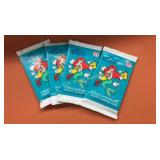(4) 1991 Pro Set The Little Mermaid Trading Cards