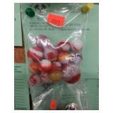 14 pcs. marbles