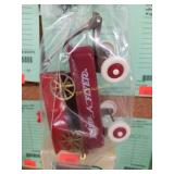2 Doll Size Metal Wagons, 1 RADIO FLYER Red