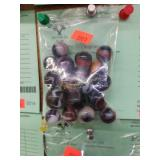22 pcs. marbles